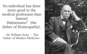 homeo expert william osler