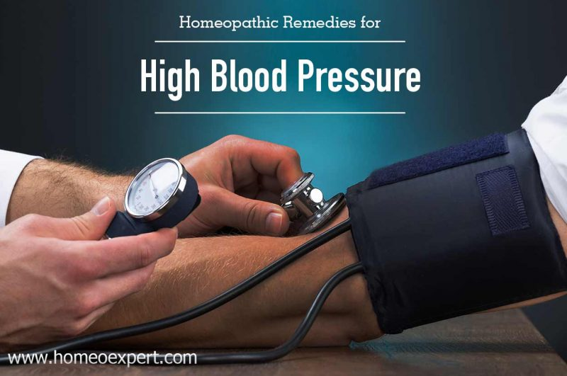 Homeopathic Medicines for High Blood Pressure