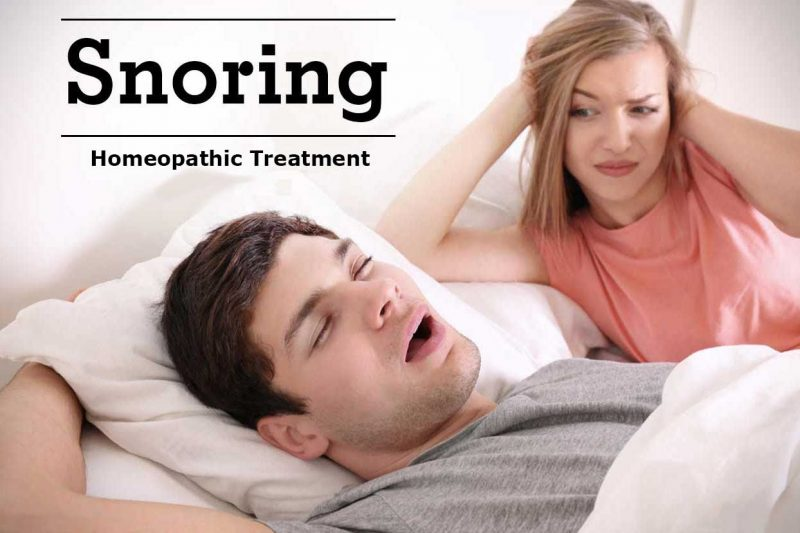 Homeopathic Medicine for Snoring