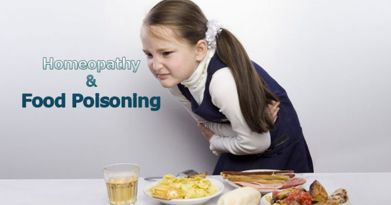 homeopathic medicine for food poisoning