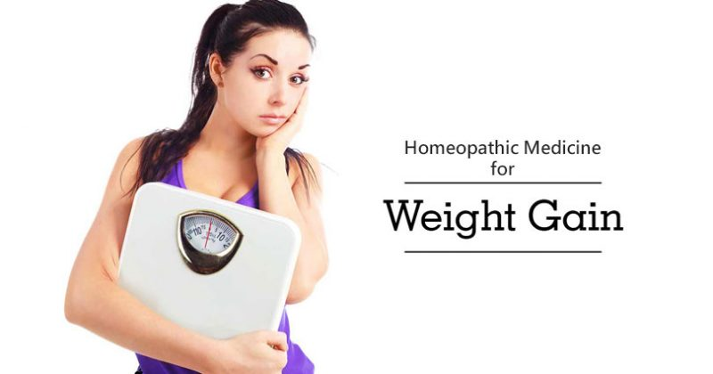 Homeopathic Medicine for Weight Gain