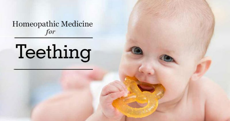 homeopathic medicine for teething