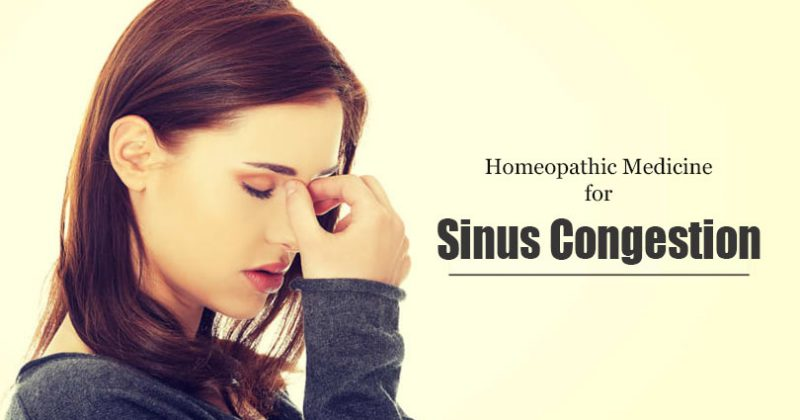 Homeopathic Medicine for Sinus Congestion