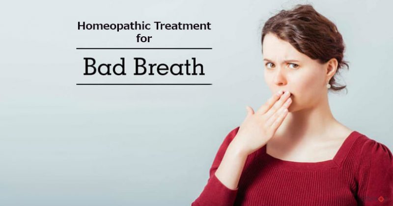 homeopathic medicine for bad breath