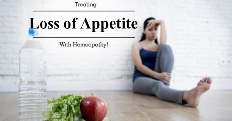 Homeopathic Medicine for Loss of Appetite