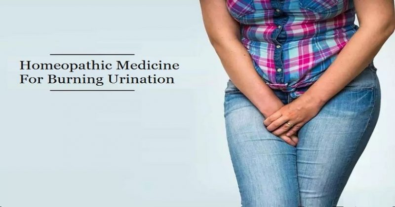 Homeopathic Medicine for Burning in Urine