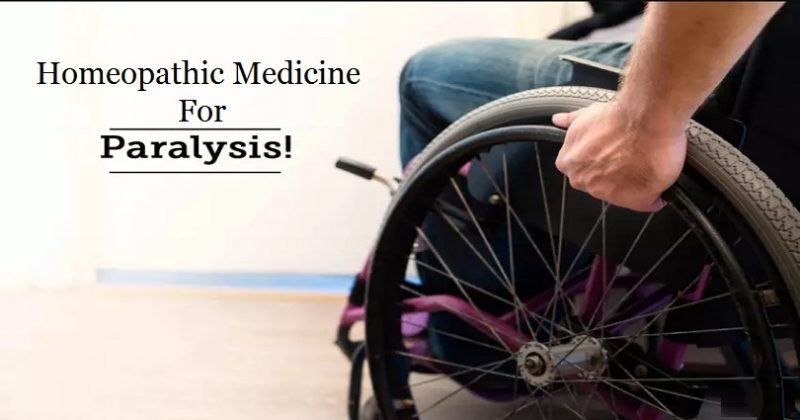 homeopathic medicine for paralysis