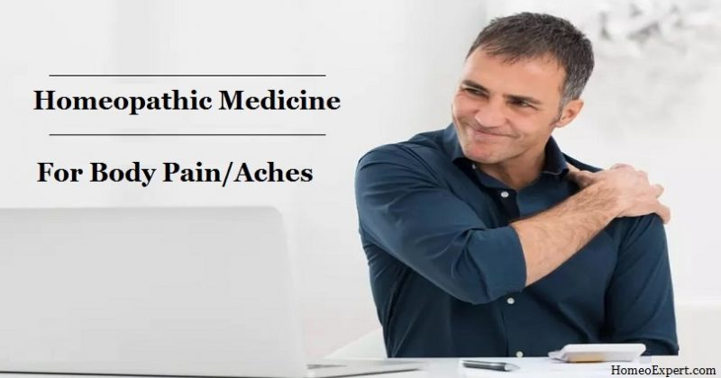 Homeopathic Medicine for Body Pain