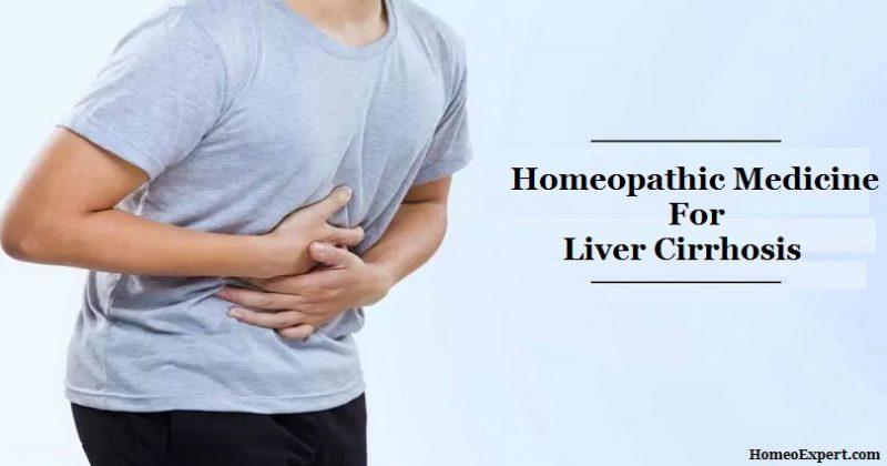 Homeopathic Medicine for Liver Cirrhosis