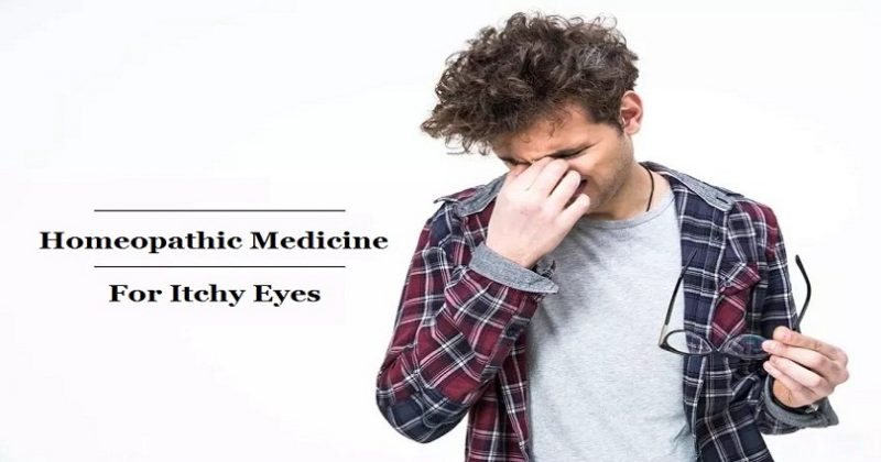 Homeopathic Medicine for Itchy Eyes