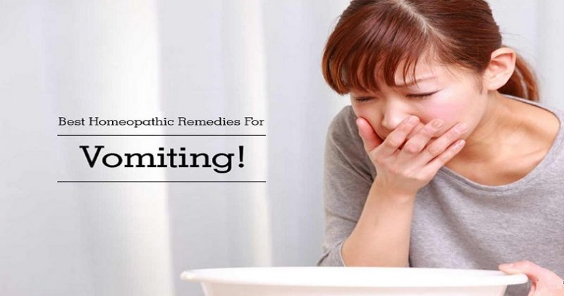 homeopathic medicine for vomiting