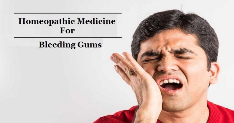 homeopathic medicine for bleeding gums