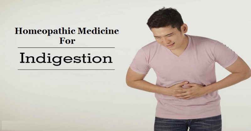 homeopathic medicine for indigestion