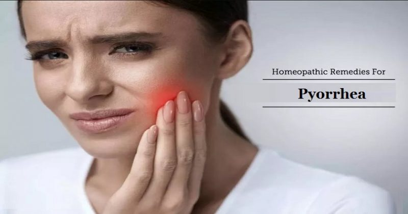homeopathic medicine for pyorrhea