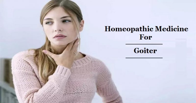 homeopathic medicine for goiter