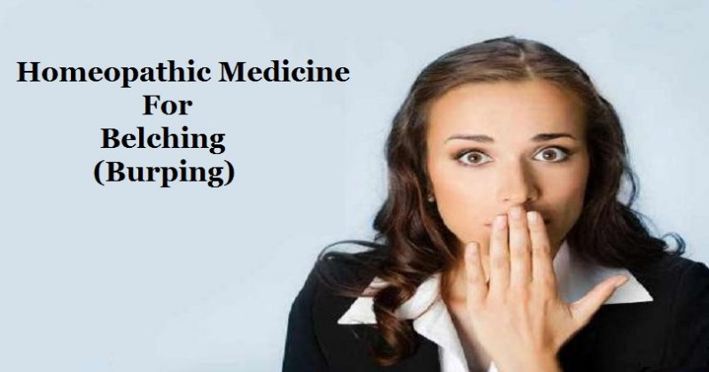 Homeopathic Medicine for Belching