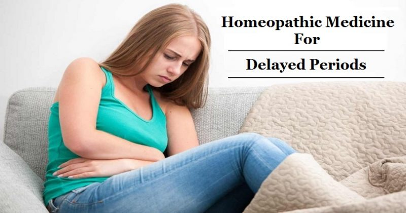 homeopathic medicine for delayed periods