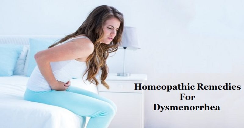 homeopathic remedies for dysmenorrhea