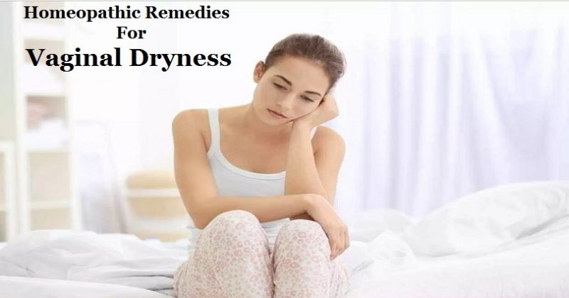 homeopathic remedies for vaginal dryness