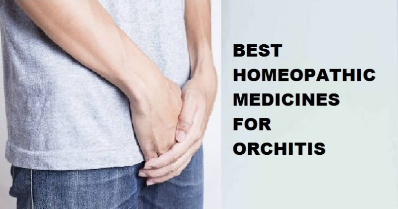 homeopathic medicine for orchitis