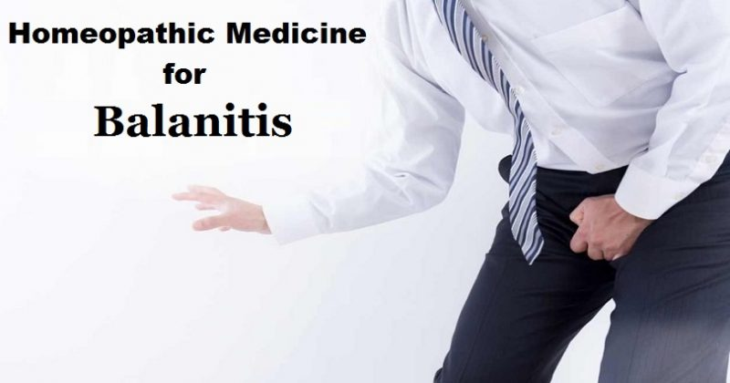 homeopathic medicine for balanitis