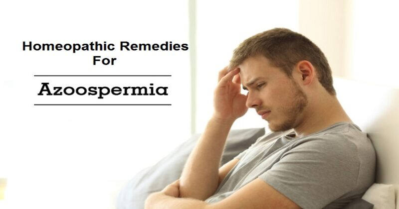 homeopathic remedies for azoospermia