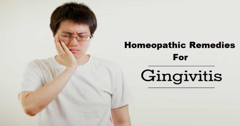 homeopathic medicine for gingivitis
