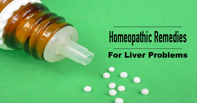 homeopathic medicines for liver problems