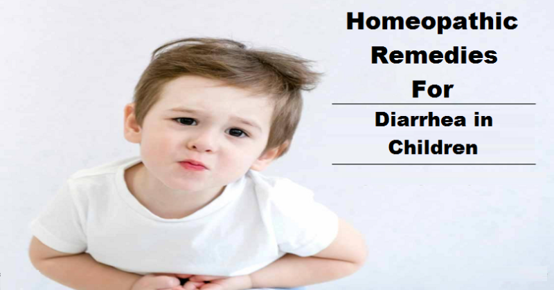 homeopathic remedies for diarrhea in children